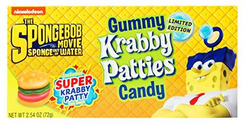 Gummy Krabby Patties Candy  254 oz Box