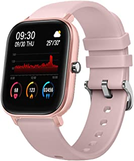 LIGE Smart Watch with Heart Rate Sleep Monitor Bluetooth Music Control All-Day Activity Step Counter Smart Bracelet Compat...