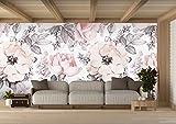 Oedim -  Papel Pintado para Pared Flores | 200 x 150 cm | Salones