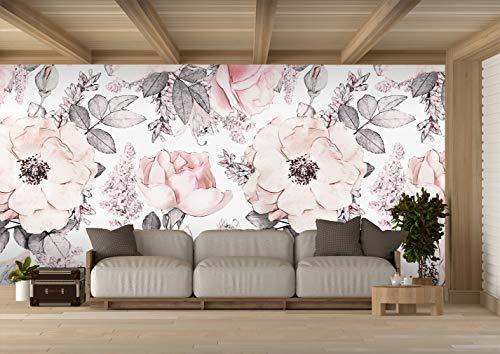 Oedim Fotomural Vinilo para Pared Flores | 350 x 250 cm | Salones
