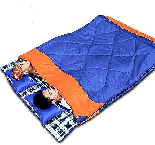 NFKAGZ.S Sacs De Couchage En Plein Air Camping Printemps Enveloppe Portable Randonnée Sac De Couchage Pour Les Couples Le Remplissage