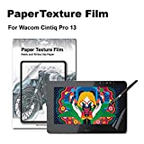 Green Onions Supply Paper Texture Screen Protector for Wacom Cintiq Pro 13 Paper Screen Sketch/Anti Glare/Matte/Made in Japan/Scratch Resistant/PET [1 Pack]
