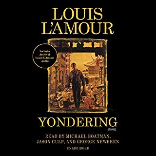 Yondering audiobook cover art