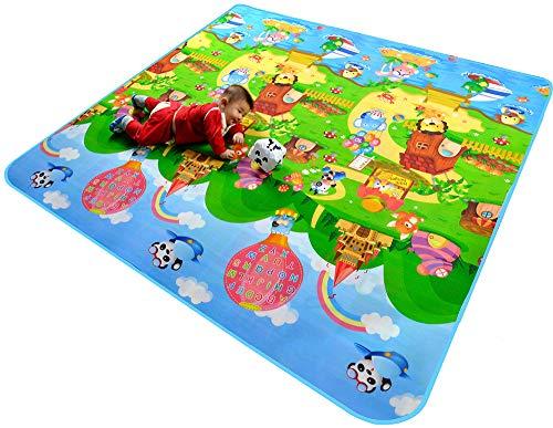 SYT Blankets Baby Krabbeldecke Picknick-Matte Klettermatte Doppelseitige Krabbeldecke