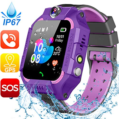 Smartwatch for Kids, GPS Tracker with SOS Alarm