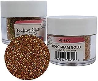 Techno Glitter - Hologram Gold 2Pack