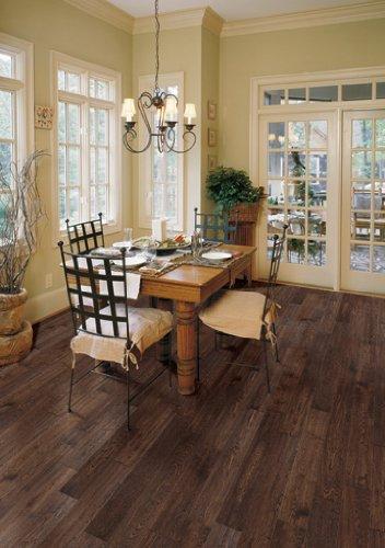 Oak Tobacco Distressed - Prefinished Solid Wood...