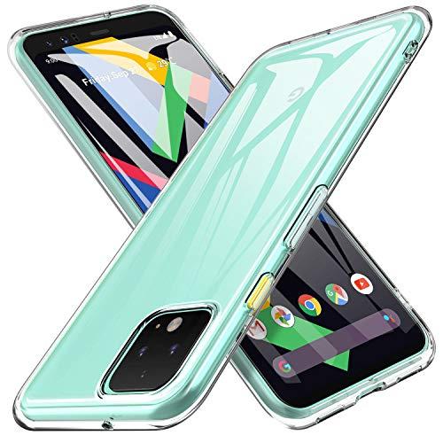 iBetter für Google Pixel 4 XL Hülle, Soft TPU Ultradünn Cover [Slim-Fit] [Anti-Scratch] [Shock Absorption] passt für Google Pixel 4 XL Smartphone,klar