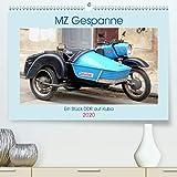 MZ-Gespanne - Ein Stück DDR auf Kuba(Premium, hochwertiger DIN A2 Wandkalender 2020, Kunstdruck in Hochglanz): Motorräder der Marke MZ mit Seitenwagen ... 14...