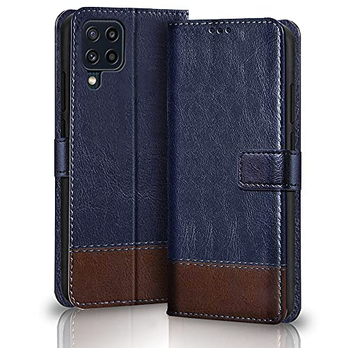 TheGiftKart Dual-Color Leather Finish Flip Back Cover for Samsung Galaxy M32  ...