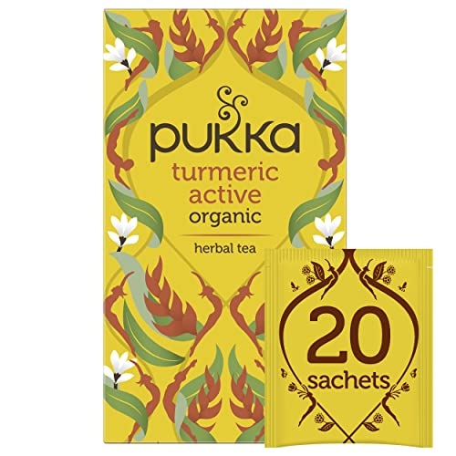 Pukka Turmeric Active - Tisana 20 filtri