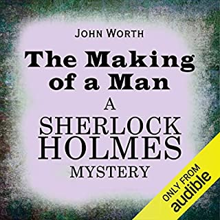Sherlock Holmes: The Making of a Man copertina