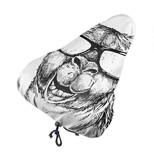 Bong6o Funny Llama - Gafas de sol unisex, extra suaves, duraderas, impermeables, gel antipolvo