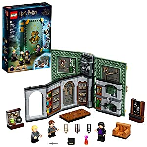 LEGO Harry Potter Hogwarts Moment: Potions Class 76383 Brick-Built Playset with Professor Snape's Potions Class, New… - 51OSY1CyRUL - LEGO Harry Potter Hogwarts Moment: Potions Class 76383 Brick-Built Playset with Professor Snape's Potions Class, New…