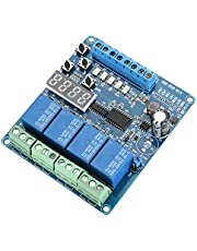 Módulos de Relés de 4 Canales a DC 8-36V con Optoacoplador para Arduino UNO R3 Kit MEGA 2560 Proyecto 1280 DSP ARM PIC AVR STM32 Raspberry Pi