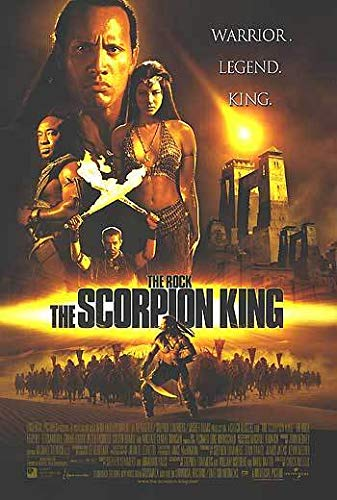 Scorpion King - Authentic Original 27x40 Rolled Movie Poster