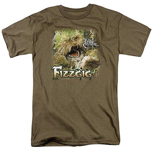 Trevco Dark Crystal Fizzgig Mens Short Sleeve Chemise (Safari Vert, X-Large)
