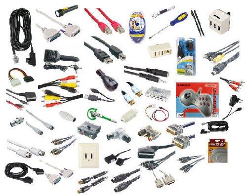 Sonderposten / Restposten / Lagerauflösung, Kartons mit Elektronik-Zubehör