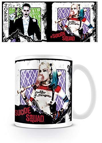 Harley Quinn Suicide Squad-Spielkarte Joker Kaffeetasse Offizielle