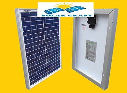 Modulo solare 2x 30Watt 12V polycristallins fotovoltaico spina MC4Pannello PV