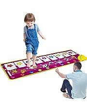 ASTOTSELL Piano Mat, Opvouwbare Muzikale Mat [100 cm X 36 cm, 14 Toetsen] Baby Dansmuziek Piano Tapijt Deken Speelgoed Cadeau voor Kinderen Meisjes