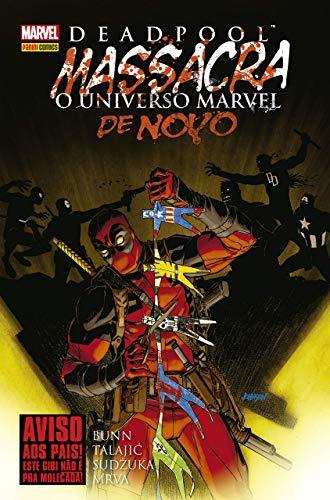 Panini Deadpool Massacra O Universo Marvel De Novo: Capa Dura
