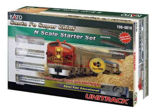 Kato Santa Fe Super Chief N Scale Starter Set