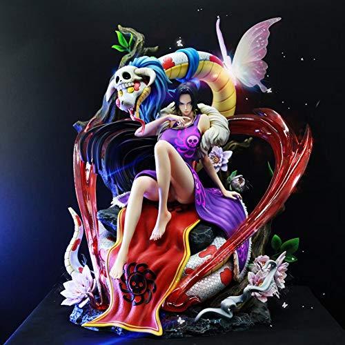 Derya 1/4 Maßstab Anime Figure One Piece Boa · Hancock Limited Versionsstatus für Sammlungsgeschenkfans Vorbestellung,Lila,1/6