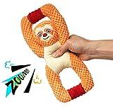 Giocattoli per cani di peluche, giocattoli per cani interattivi, simpatici giocattoli per cani che squittiscono, giocattoli di ossa da masticare per cuccioli, razze piccole, medie e grandi