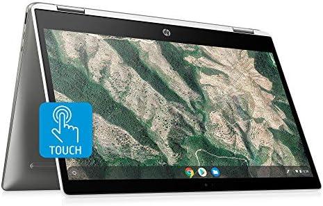 HP Chromebook x360 14 inch HD Touchscreen Laptop Intel Celeron N4000 4 GB RAM 32 GB eMMC Chrome product image