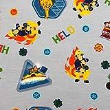 MAGAM-Stoffe Feuerwehrmann Sam Jersey Kinder Stoff Oeko-Tex