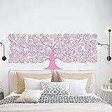 Baum Home Decoration Wandaufkleber Kunst Aufkleber Pink L 43cm X 106cm