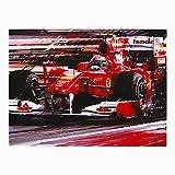 Alonso Ferrari F10 - Tarjeta de felicitación