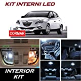 KIT LED INTERNI DELTA 844 COMPLETO FULL WHITE 6000K