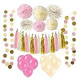 Wartoon Seidenpapier Pompons Blumen für Party Dekoration