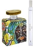 Maroc & Roll - Sicily Bottiglia Magnum DIFFUSORE Profumo Ambiente in Porcellana con Bacchette 3,5lt - SBTMAXI.B&R02
