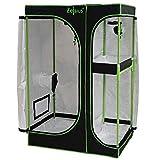Zelsius Chambre de Culture MyHomeGrow 2-en-1 | Grow Box d'intérieur | Vert Noir |...
