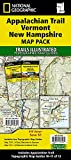 Appalachian Trail: Vermont, New Hampshire [Map Pack Bundle] (National Geographic Trails Illustrated Map)