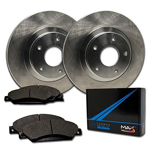 [Front] Max Brakes Premium OE Rotors with Carbon Metallic Pads TA061041-4