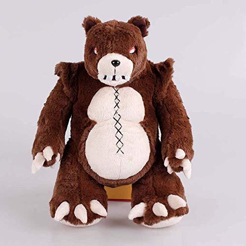 Leyue 14'Anne's Teddy Bear Tibers Llush Doll Toy Toy Cosplay Disfraz Props