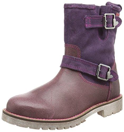Agatha Ruiz De La Prada Mädchen 151962 Desert Boots, Violett (Granate Y LILA), 35