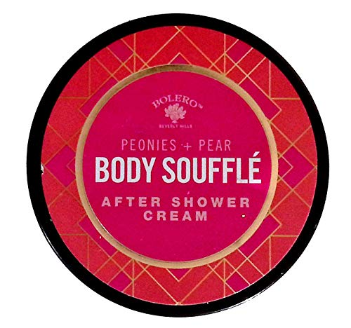 Bolero Beverly Hills Body Souffle Peonies + Pear After Shower Cream 5fl oz (147.8ml) (for All Skin Types)