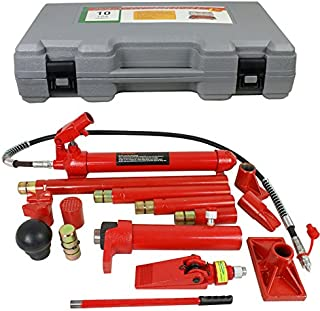 Super Deal Porta Power Hydraulic Jack Repair Tool Kit Power Set Auto Tool, 10 Ton (10 Ton)