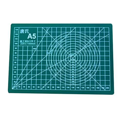 Guangcailun Manuelles DIY Werkzeug Schneidebrett doppelseitig verfügbar A5 Selbstheilungs Cutting Pad 21 * 15cm