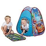 John 77025 Pop Up Spielzelt Street Fun 4 Spielzeugautos Spielteppich Kinderzelt Wurfzelt Spielhaus...