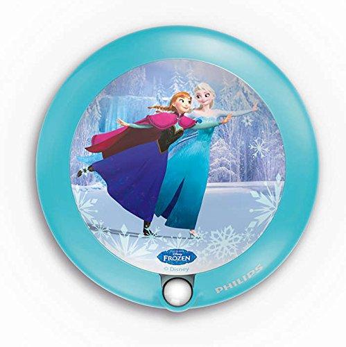 Philips Disney Frozen (Die Eiskönigin) LED Nachtlicht, hellblau, 717650816