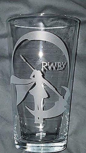 RWBY>>>>Here they are all together in one beautiful set....4 16oz Pint Glasses