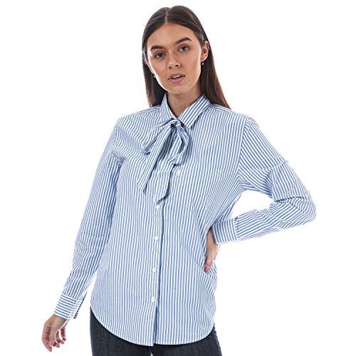 Levi's Womens Sidney een zak vriend shirt in rustige haven streep