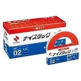 ニチバン 両面テープ ナイスタック 一般タイプ 2巻マキ×12個 5mm×20m NWBB-5