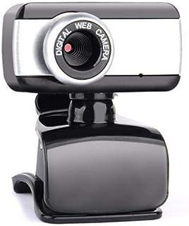 Anonyme HD Webcam 480P Portable Web Cam Built-in Microphone for Skype Desktop Computer USB Plug Play Laptop Black